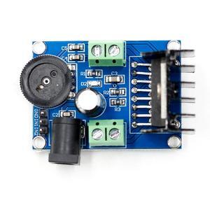 Image 5 - 高品質オーディオパワーアンプdc 6 に 18v TDA7297 モジュールダブルチャンネル 10 50 ワット