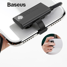 Baseus Gamer USB Cable for iPhone Xs Max XR 8 7 Plus Mobile Phone Game Charger Cable Fast Charging for iPad Elbow Cord