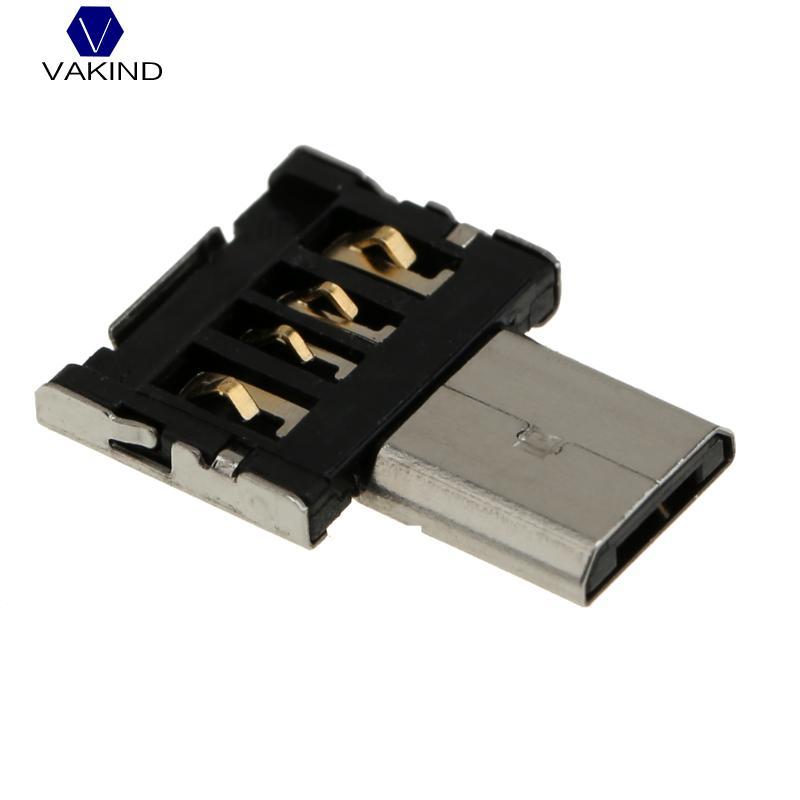 VAKIND Mini OTG Adapter USB To Micro USB Converter Adapter USB To Micro USB Connector For Android Smart Phone Tablet