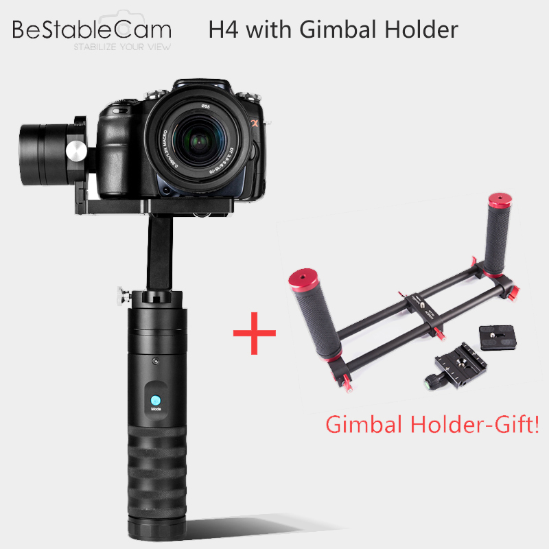 BeStableCam H4 Lite 3-Axles Handheld Camera Stabilizer for DSLR Camera Canon with Camera Gimbal Mount Holder vs Zhiyun Crane M bestablecam h4 rtf brushless handheld encoder mirrorless digital camera gimbal gyro stabilizer for gh3 gh4 a7s nex5 bmpcc