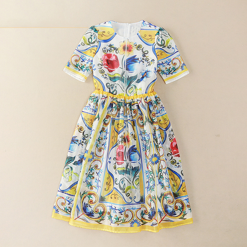 Женское платье в живописи