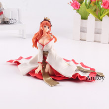 One Piece Figure One Piece Anime Princess Shirahoshi Action Figure Mermaid Princess Sitting on Ground Toy 11cm KT471(China)