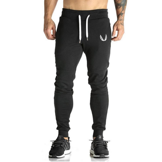 Men's Sports Elastic Cotton Pants