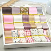 Alta calidad 39 diseño de la mezcla cinta fijada para paquete de materiales de embalaje del arte del regalo de boda accesorios para el cabello diy hecho a mano