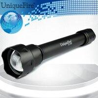 Uniquefire ir850nm led lotus saldırı kafa feneri uf-1501 t38 avcılık için kızılötesi görünmez ışık gece görüş lambası torch