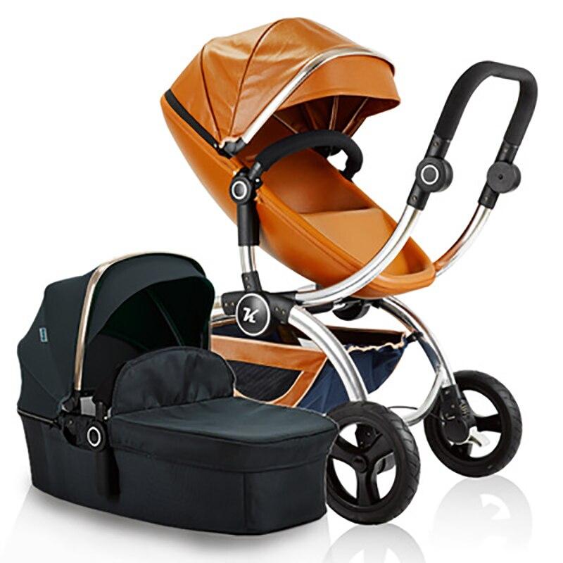 Ku for ud y stroller folding two-way fashion baby car four wheel y two p18 y1033