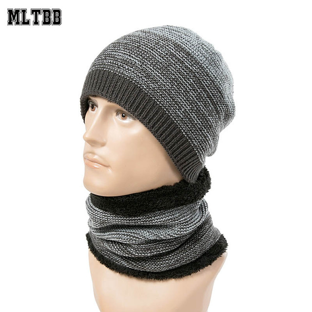 MLTBB nuevo conjunto sombrero de invierno y bufanda para las mujeres  hombres 2 unidades gorros sombrero fc16be6be0e