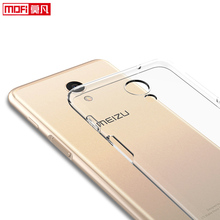 лучшая цена Meizu M6s Case Meizu M6s Case Cover Silicon Ultra Thin Funda Mofi Transparent Back Clear Coque 5.7