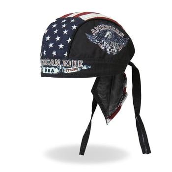 GPCROSS Hot Bike motorrijders Headwrap Amerikaanse Rit Eagle Headwrap Moto Motorrijden Sjaal
