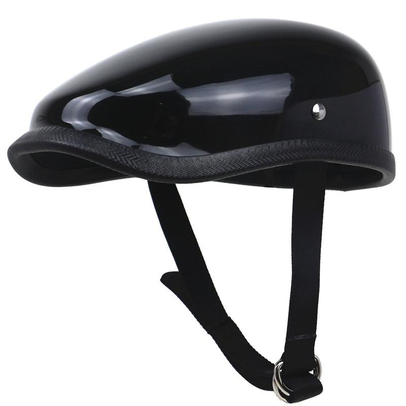 TT & CO style Bérets Casque léger casque de moto en Fiber de verre shell ultra poids léger conception loisirs moto casco