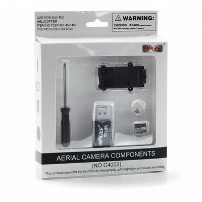 F03432 HD Camera Components C4002 w/ Record mode & videography Aerial For MJX F45 / F29 / F39 / T40C RC helicopter +FS