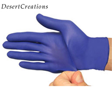 100pcs/box Universal Disposable Latex Rubber Nitrile Disposable Gloves For Home Cleaning Food Cleaning Gloves 5 Sizes 50pcs pack purple disposable nitrile gloves 9 length for dentist medical use food process tattoo protective gloves