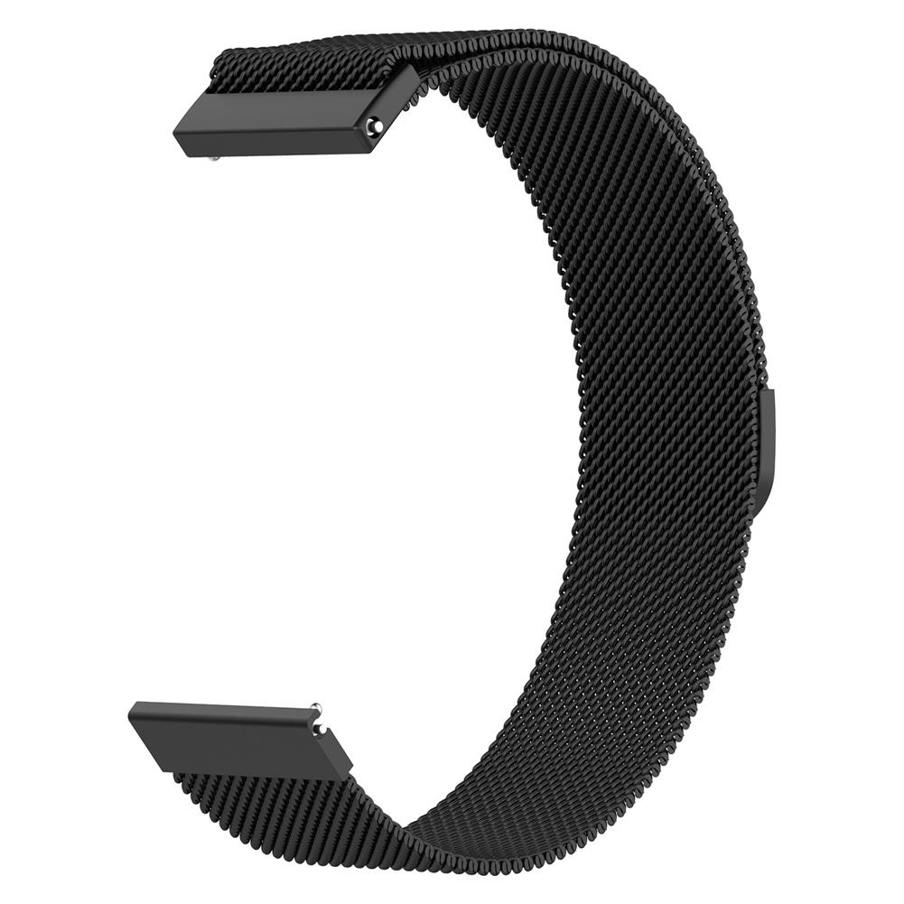 Image 4 - Magnetic Milanese Replacement Watch Band Stainless Steel  Wrist Strap Softness  Adjustable 18MM / 20MM For Tic Watch C2-in Smart Accessories from Consumer Electronics