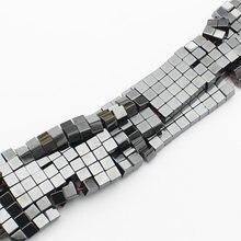 Ematite magnetica Perline Cubic 3,4, 6 millimetri 15 pollici per filo, Per Il FAI DA TE Monili che fanno! Forniamo il commercio all'ingrosso misto per tutti gli articoli!