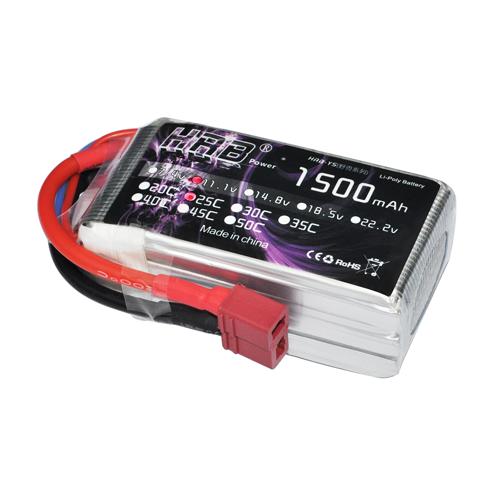 россия платье s 25 max HRB RC lipo battery 11.1v 1500mah 25C Max 50C 3s LiPo Battery For RC Car Helicopter Airplane QAV 210 250 Quadcopter