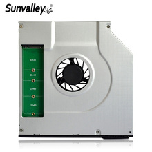 Sunvalley New 9 5mm Universal SATA M 2 NGFF Solid State Disk 2nd HDD Caddy SATA