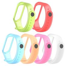 New Replacement Wrist Strap For Xiaomi Mi band 4 Millet Bracelet Colorful Smart Wristband Strap 5 clos replacement colorful wristband band strap bracelet wrist strap f58695 181002 jia