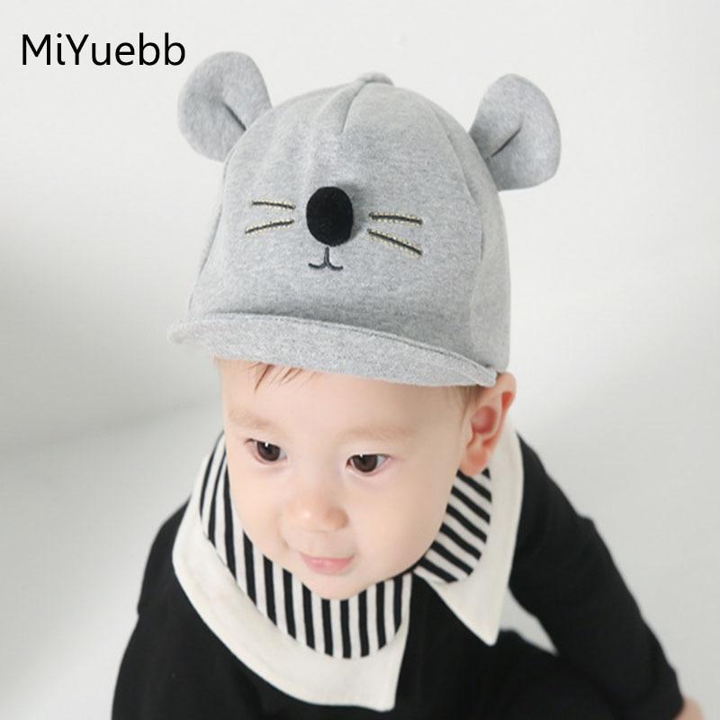 Nový styl novorozených chlapců a dívek dětská kočka uši - Oblečení pro miminka