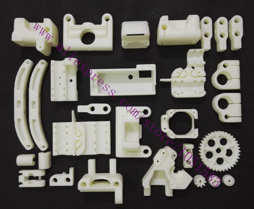Reprap ToyREP 3D Printer Printed Parts ABS Plastic Parts KIT High Quality Free Shipping