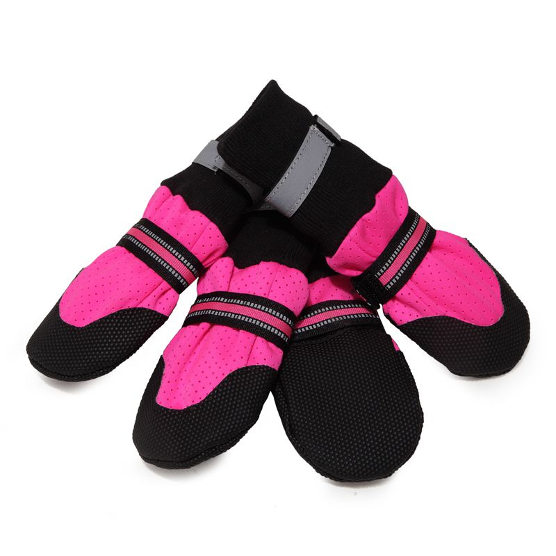 Breathable Pet Soft Bottom <font><b>Shoes</b></font> For Large Dogs Pet Walking <font><b>Shoes</b></font> For Dogs image