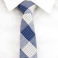 Men S Navy White Plaid Ties S Bowtie 100 Cotton Tie Star Poin Handkerchief Accessories For