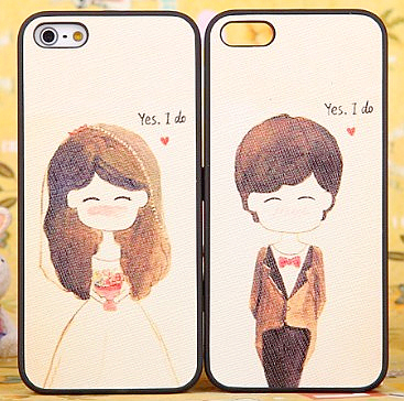 Wedding dress for iphone 5 phone case for apple 5 protective case skinning scrub shell