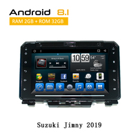 2 Din Android 8.1 GPS Radio For Suzuki Jimny 2019 Head Unit 9.0 Inch 2G 32G Octa Core System Support MIrror link GPS Navigation