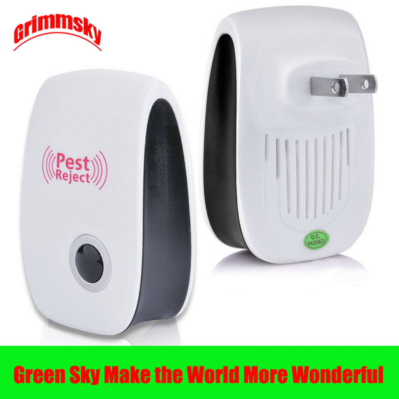 EU/US/UK/AU plug enhanced version cat ultrasonic anti mosquito insect repeller rat mouse cockroach mouse mosquito ultrasonic