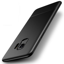 Soft Thin Matte Phone Case Note9 for Samsung Galaxy S8 S9 Plus Carbon Fiber Coque Cover for Samsung Note 9 8 S8Plus S9plus Cases