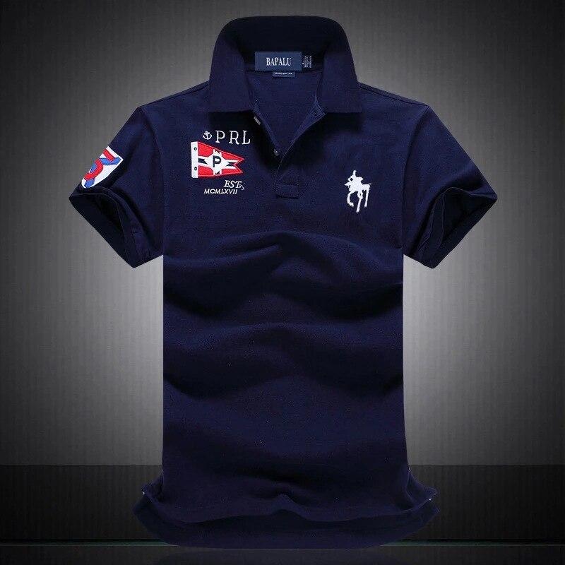 ropa de hombre 2019 famous brand Men   Polo   Shirt Short Sleeve   polo   mens Embroidery 100% Cotton breathable   polo   Male   Polo   homme