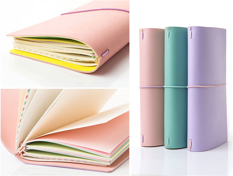 Lovedoki 2017-2018 New Cute Notebook Kawaii Agenda Planner Organizer Daily Week Planer Stationery Travlel Journal girly notebook stationery suit clips pens daily plan agenda sticky notes great value planner organizer set cute journals series