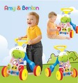 Infant walker stroller multifunction wooden baby walker toys