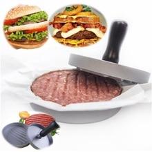 Neue Aluminium Hamburger Presse BBQ Grill Stuffed Burger Presser Pattis Rindfleisch Französisch Fleisch Maker Mold Kochen Tools Geschirr