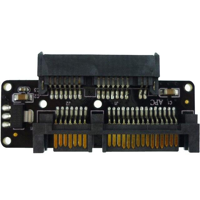 "free shipping Micro SATA to SATA adapter converts a 1.8"" drive  to a 2.5"" drive converter"