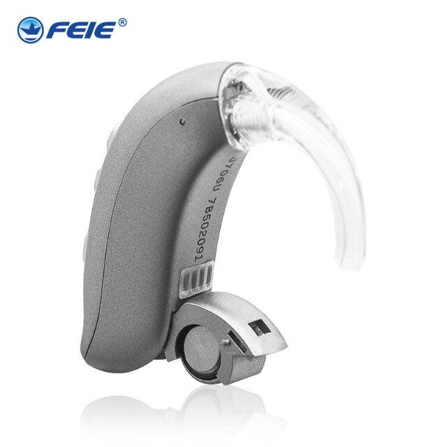 Digital Hearing Aid BTE Adjustable Hearing Device Sound Voice Amplifier Mini Pocket Audiphone Hear Clear MY-26 my voice