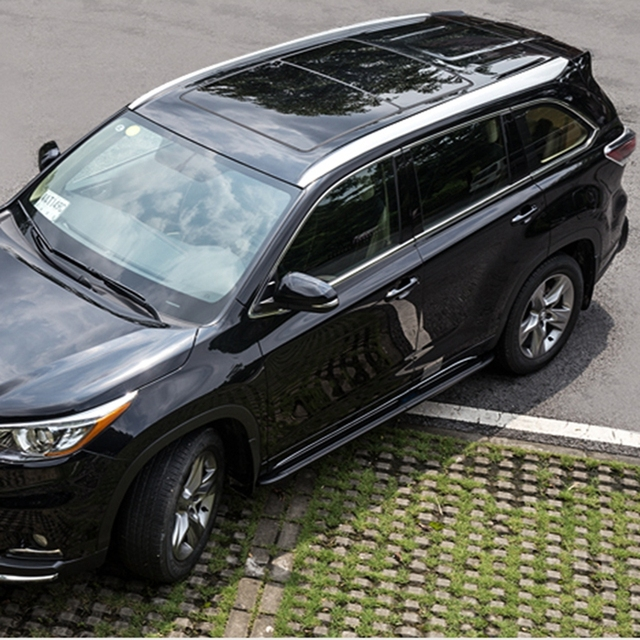Auto Roof Racks Luggage Rack For Toyota Highlander 2017 2016 High Quality Brand New Abs Fixing Car Accessorie