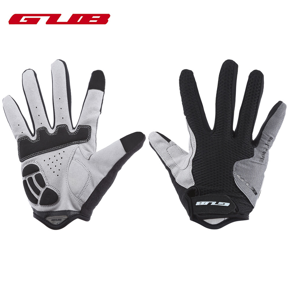 GUB Paired Touch Screen Cycling Gloves Warm Full Finger Gloves Unisex Outdoor Sport Bike Riding Gloves luva ciclismo