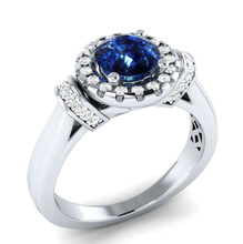 Huitan Classic Round Stone Prong Setting Women Ring Special Eternal love Meaningful Engagement For Girlfriend Dropshipping