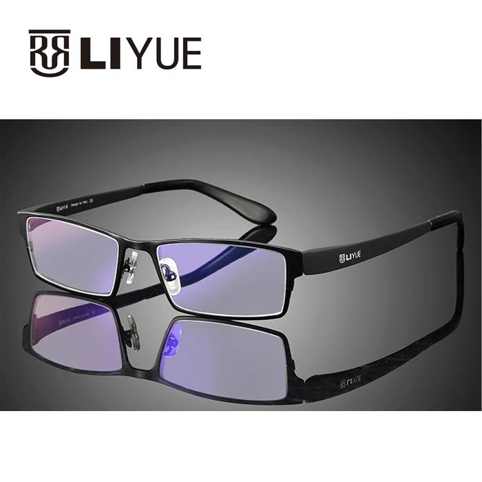 brýle proti modré paprsky muži počítačové brýle 100% UV400 předpis brýle brýle proti záření zářivé brýle muž LY9020
