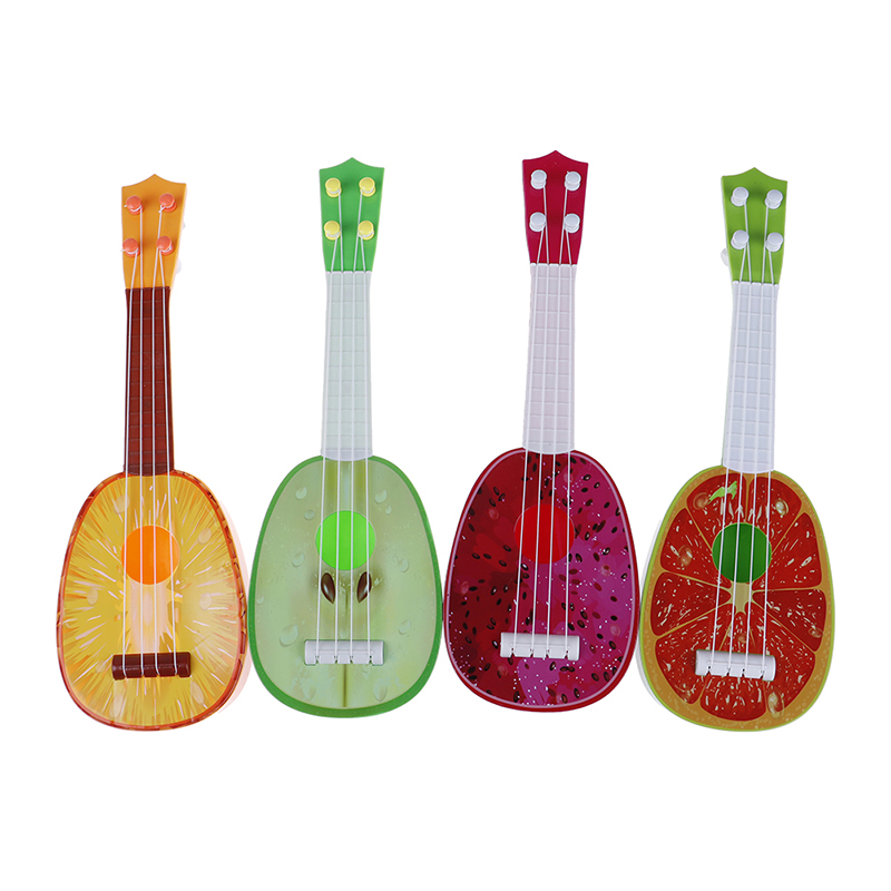 Kids Christmas Gift Toy Newest Super Cute Children 4 String Fruit Style Guitar Ukulele Musical Instrument