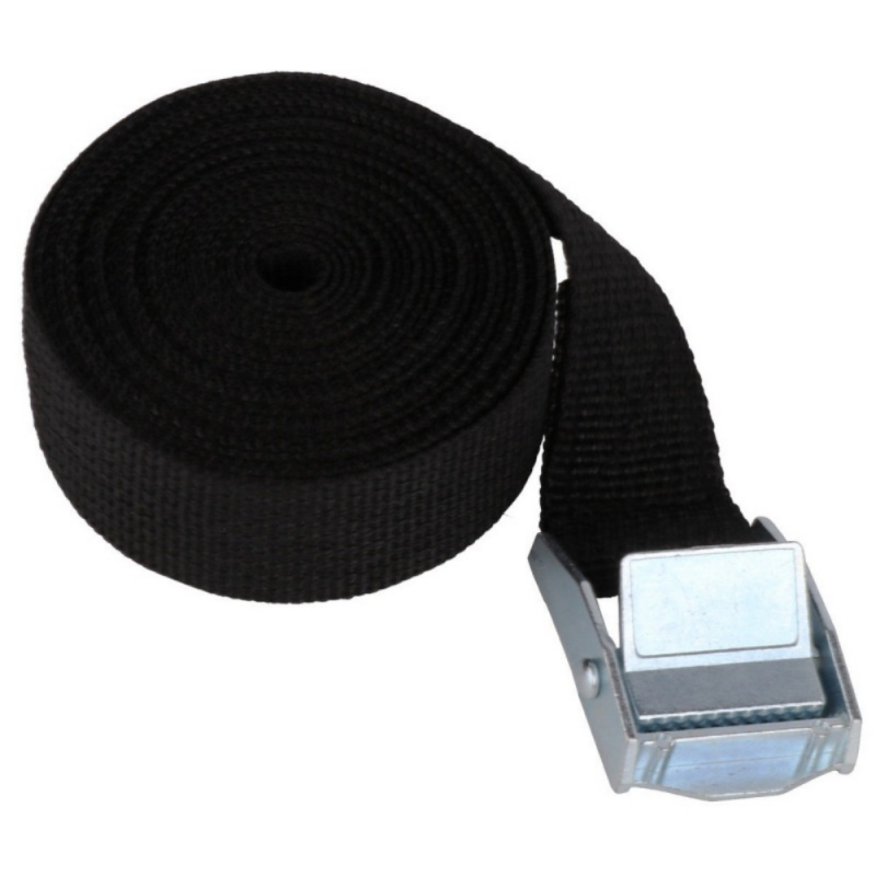 5M*25mm Strong Ratchet Belt Luggage Bag Cargo Lashing Car Tension Rope Tie Down Strap With Metal Buckle