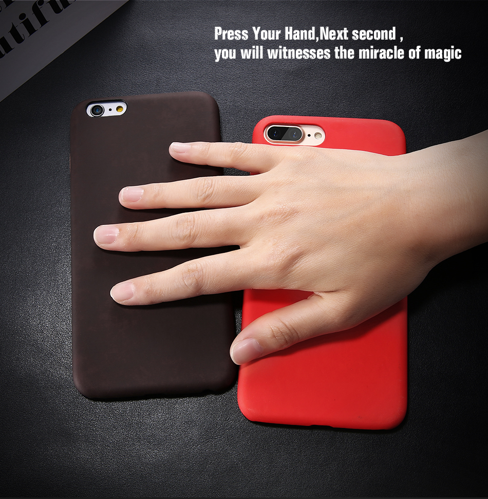 FLOVEME Thermal Discoloration Protective Phone Case For iPhone 7 7 Plus Ultra Thin Soft Silicone Back Cover For iPhone 6 6S Plus (7)