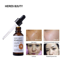 HERES B2UTY Vitamin C Whitening Serum Hyaluronic Acid Face Cream & E - Organic Anti-Aging for Eye Treatment