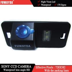 FUWAYDA SONY CCD Chip Auto Achteruitrijcamera Reverse Backup Parking CAMERA voor BMW 1/3/5/6/7 Serie X5 X6 E46 E53 E70 E71 E39 E60N E61N
