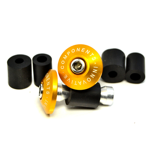 BJMOTO 7/8'' 22MM Moto Grips the bar ends CNC Motorcycle Handlebar handle bar Grips ends for Yamaha Tmax 500 T-max 530