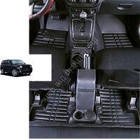 Экспресс доставка водонепроницаемое волокно кожа автомобиль коврик для jeep patriot 2006 2007 2008 2009 2010 2011 2012 2013 2017 jeep Liberty