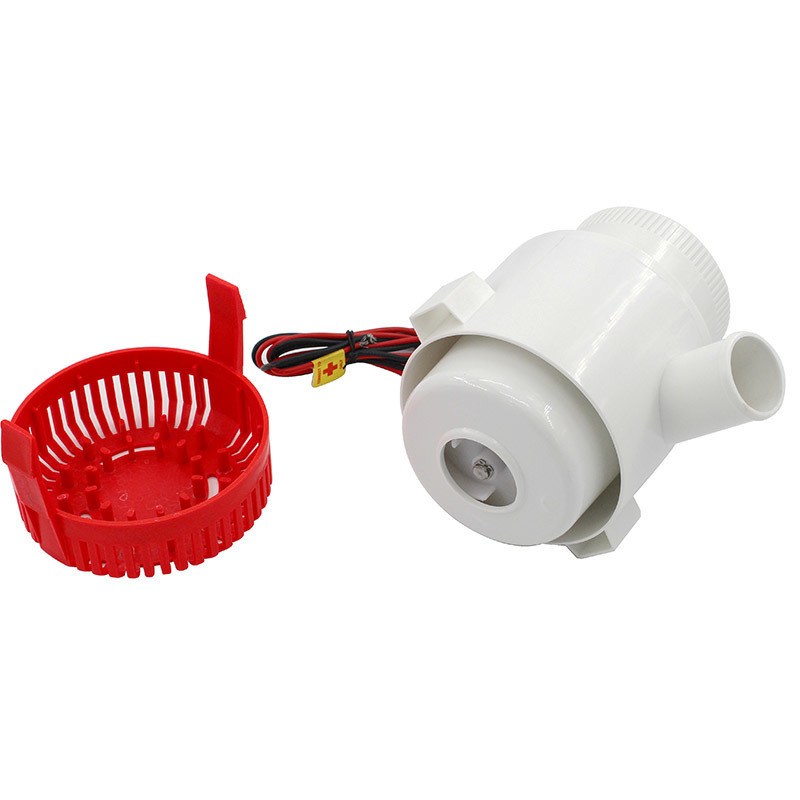 Pompe à eau électrique Submersible 3500GPH DC 12 V 24 V pompe de cale et contrôleur de niveau combinaison d'interrupteur à flotteur pour bateaux - 6