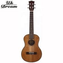 купить Fashion Wooden Guitar Musical Instruments Ukulele 27 Inch Guitar 4 Strings Ukelele Guitarra Rosewood Guitar Russia Only UT-63E по цене 4321.56 рублей