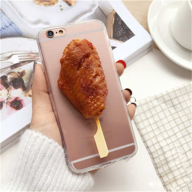 meet e3a68 b9114 US $9.6 |BBQ 3D Food Design Mobile Phone Case Novelty Simulation Corn Soft  Silicone Cover Back Smartphone Protect Shell For Iphone 6/6s on ...