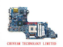 POUR HP ENVY DV6 DV6-7000 ordinateur portable carte mère 710988-001 48.4ST10.031 635 M/2G 710988-501 Mainboard 90 Jours Garantie 100% testé